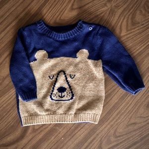 BabyGap Knit Bear Sweater - 6-12m